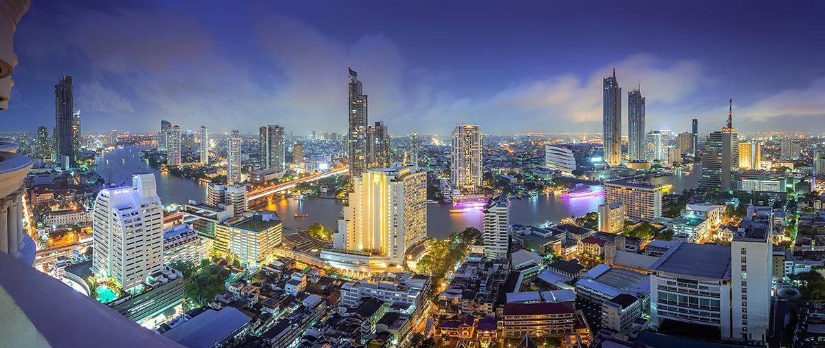 Tajlandia z lotu ptaka