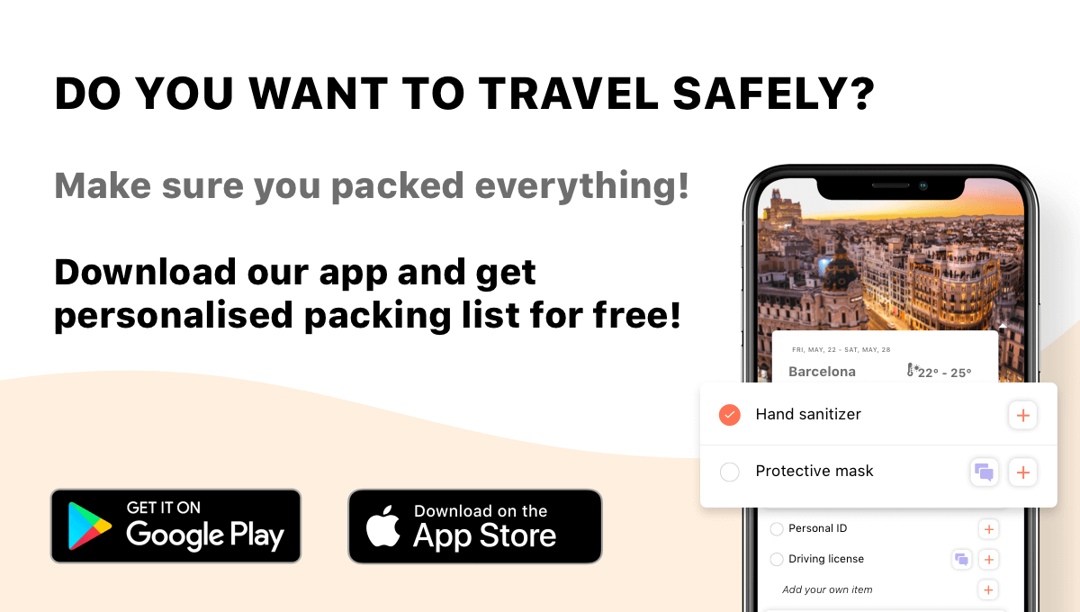 Safe traveling with MyLuggage app