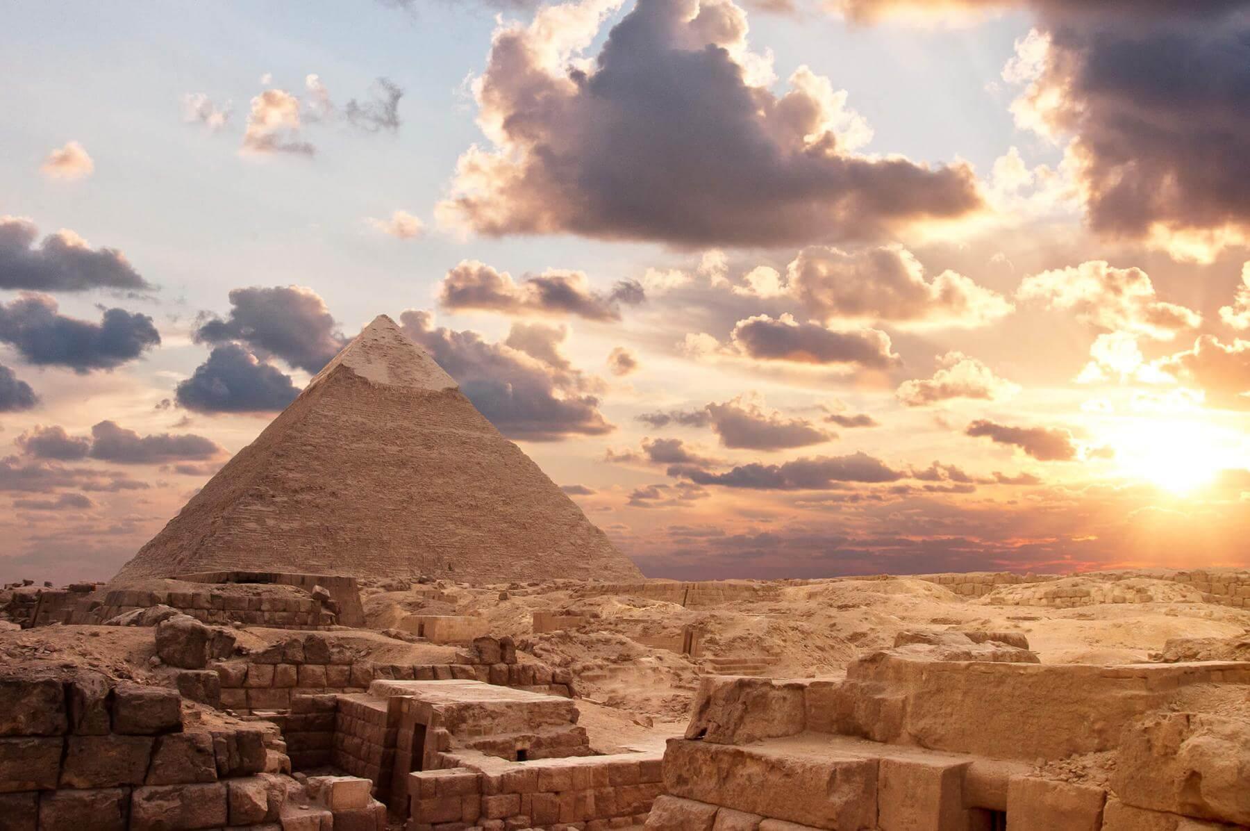 Piramides in Egypt
