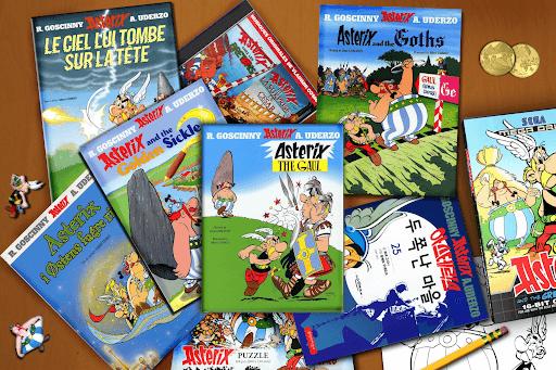 Asterix comic book