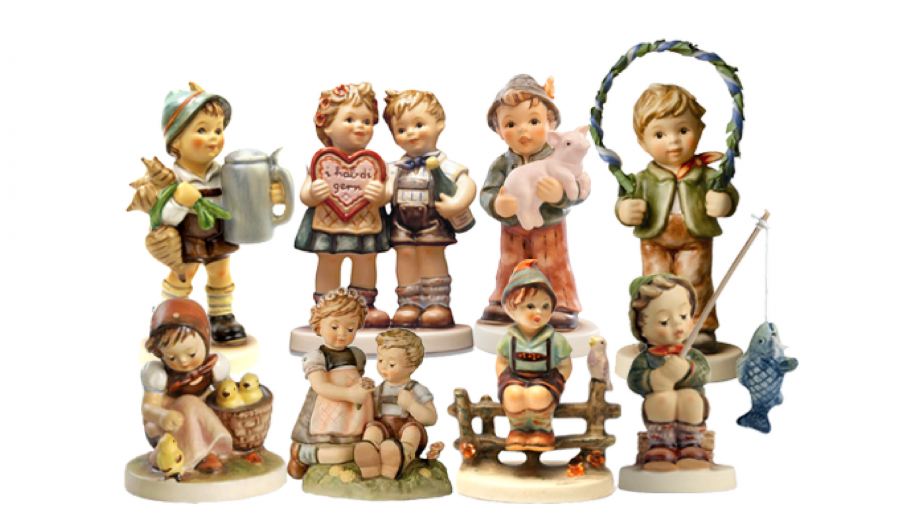Hummel figurines from Germany