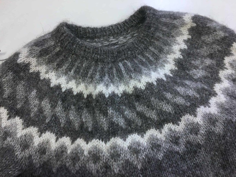 Islandzki sweter