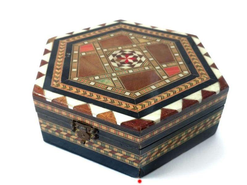 Drewnianie pudełeczka