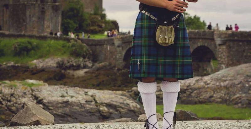 Szkocka spódniczka